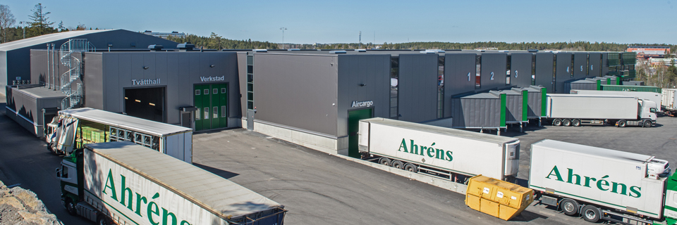 Ahréns åkeris distributionscentral