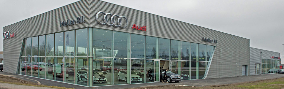 Bilhall Audi concept store