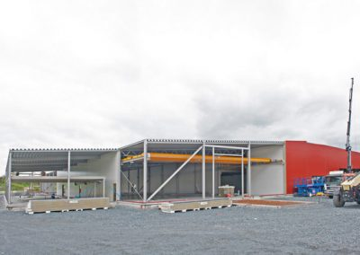 Industrihall, Arronet Teknik, Västanfors Stålbyggnader.