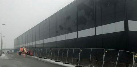 Lagerhallen i Stockholm Nord Logistikcenter