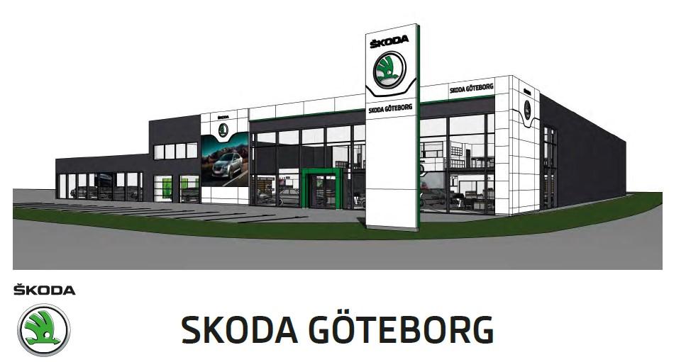 Koncepthall för Skoda i Göteborg