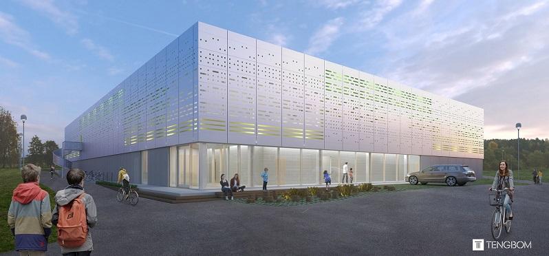 Ny sporthall i Kungsängen