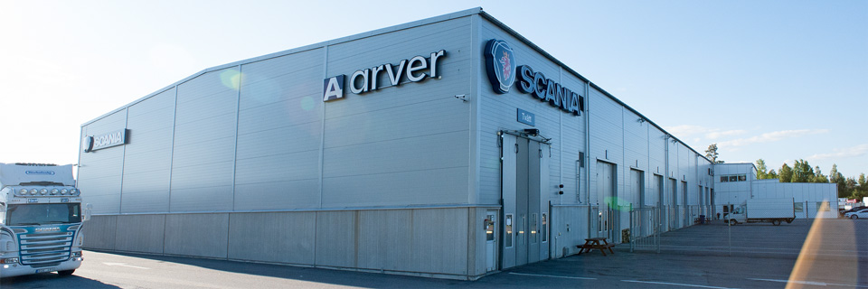 Arvers nya lokaler i Eskilstuna