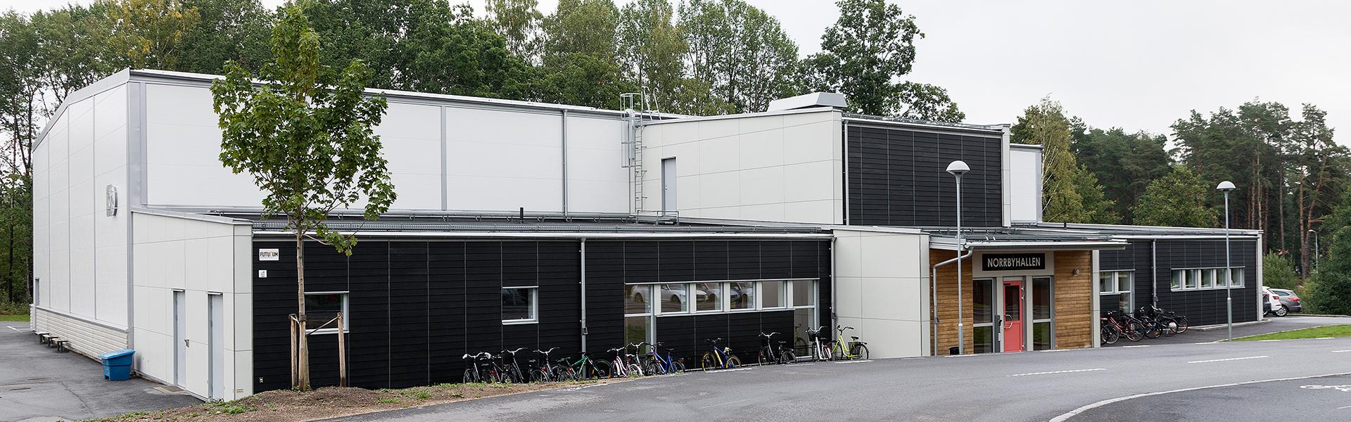 Skola och förskola med stålstomme