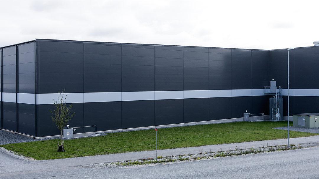 Lagerhall i Stockholm Nord Logistikcenter