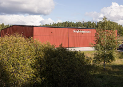 Bygga sporthall
