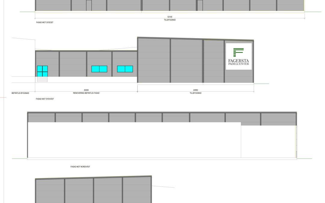 Fagersta Padelcenter snart klart